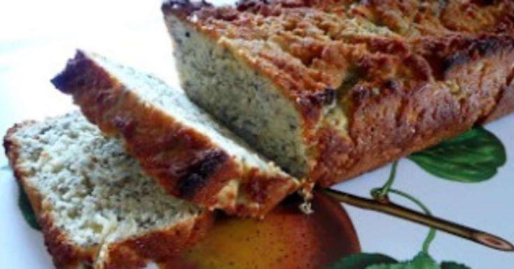 Cake amande, noix de coco, graines de chia (ig bas). . La recette par Petits plaisirs sans gluten.