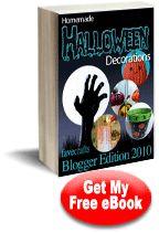"""Homemade Halloween Decorations: Blogger Edition 2010"" eBook"