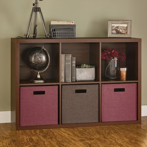 "Found it at Wayfair - 30"" H x 44"" W x 13.6"" D Decorative 6-Cube Storage Cabinet"