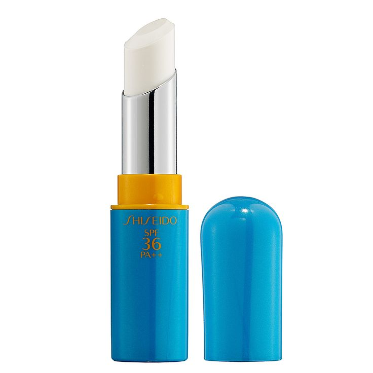 Shiseido Sun Protection Lip Treatment SPF 36 PA++ | A highly nourishing lip balm that glides on smoothly to give lips softness and luminosity, without any filmy residue. | This light lipcare essential defends against powerful UVA/UVB rays while ensuring optimal moisture balance. It delivers hydration to instantly reverse dryness and protect against loss of radiance. It can be worn alone or under lipstick.