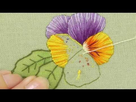 Silk Shading - Long & Short stitch - YouTube More