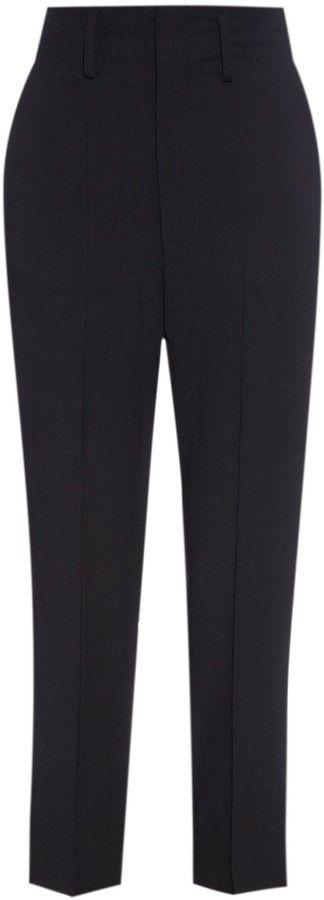 ISABEL MARANT ÉTOILE Kanuka high-waisted cigarette trousers