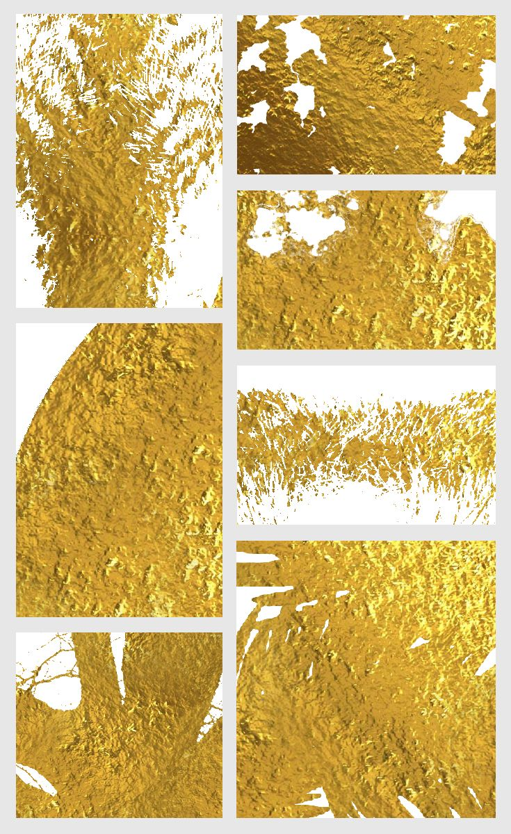 The ultimate gold wall art | The Ultimate Golden Dream - Gold ...