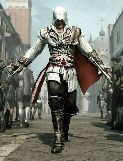 Ezio Auditore Da Firenze. Does this count as a super hero?