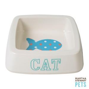 Martha stewart pets blue fish cat bow petsmart for my for Fish bowl petsmart