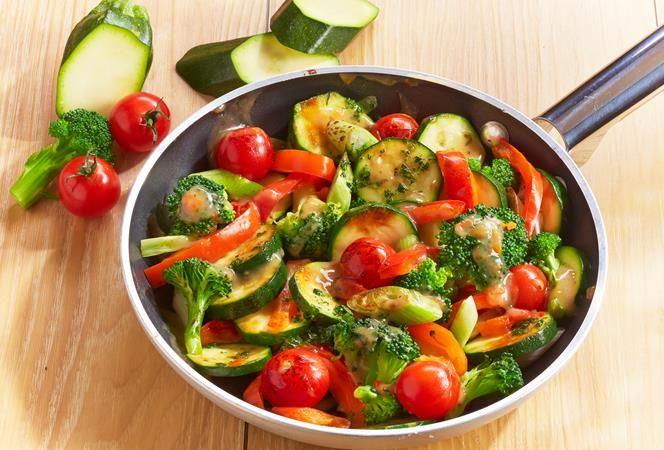Gemüsepfanne | Kochrezept