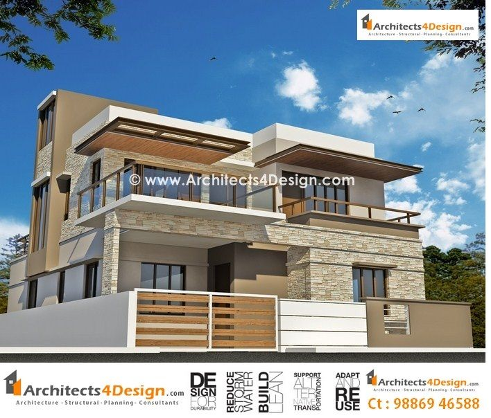 Home Designs In India Of Duplex Houses