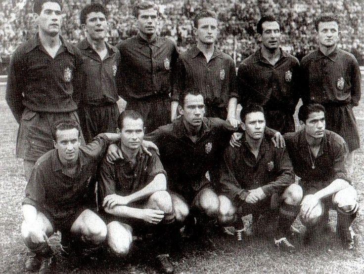 Equipos de fútbol: ESPAÑA Selección 1940-1960