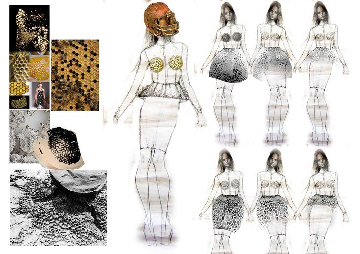 honeycomb breast