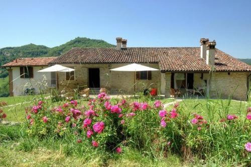 Appartement in het dorpje Modigliana in de streek Emilia-Romanga, omringt door zes hectare wijngaarden en een prachtige tuin vol rozen!