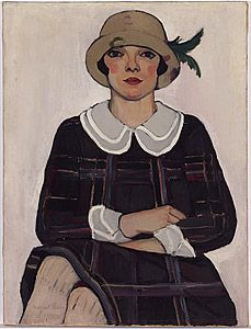 Artist:  Margaret Preston   Flapper 1925