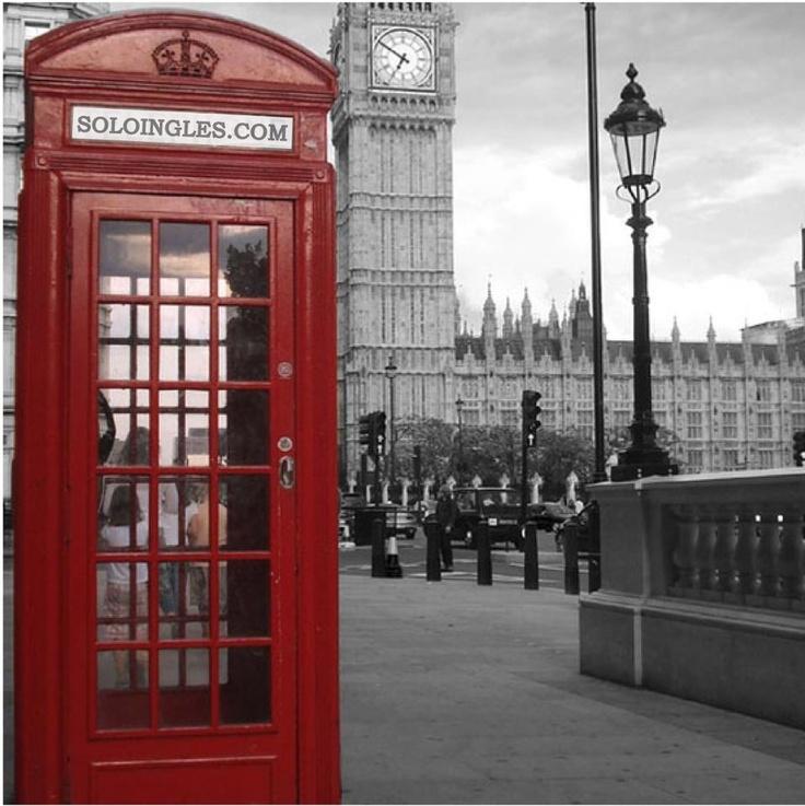 in London..  Con saber no alcanza, necesitas HABLAR  -www.soloingles.com Clases en Internet por videoconferencia