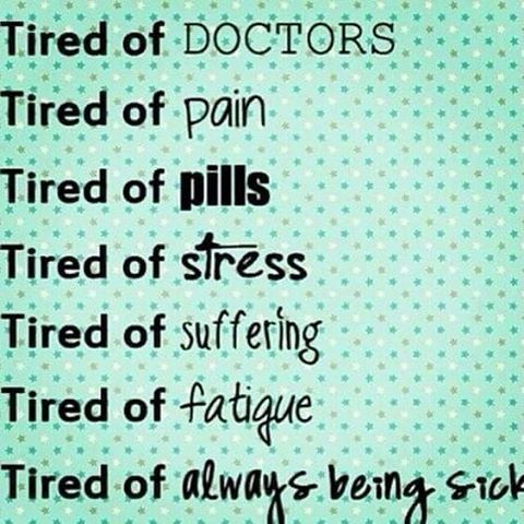 When you're just tired. #fibromyalgia #autoimmunediease