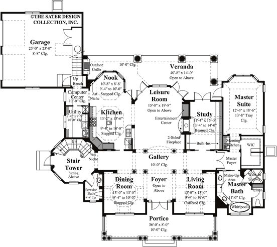 17 best images about house plans on pinterest luxury for Sater design house plans