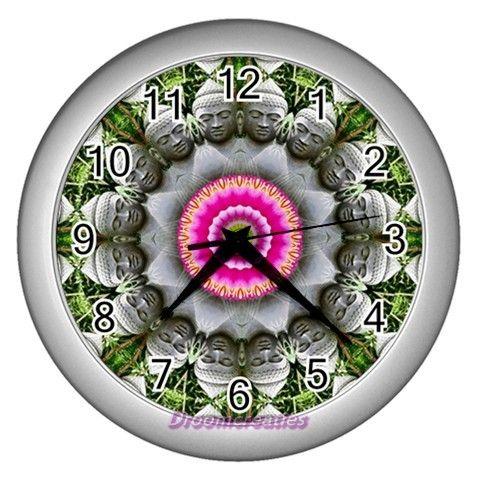 Wall clock Boeddha http://www.artravesupercenter.com/droomcreaties/?SectionCode=@Erin Whatley Lockerman