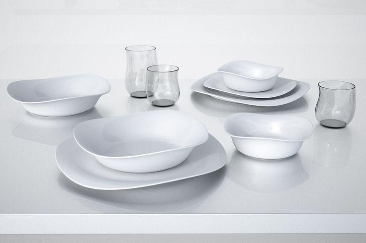 Georg Jensen Cobra – zastawa stołowa z porcelany zaprojektowana przez Constantina Wortmanna