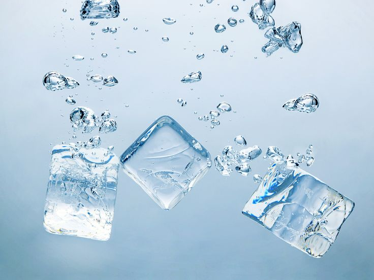 Ice Cubes for Scars and Burns