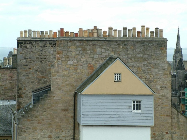 15) Edinburgh, Midlothian, Scotland (chimneys c. Chris Popham)