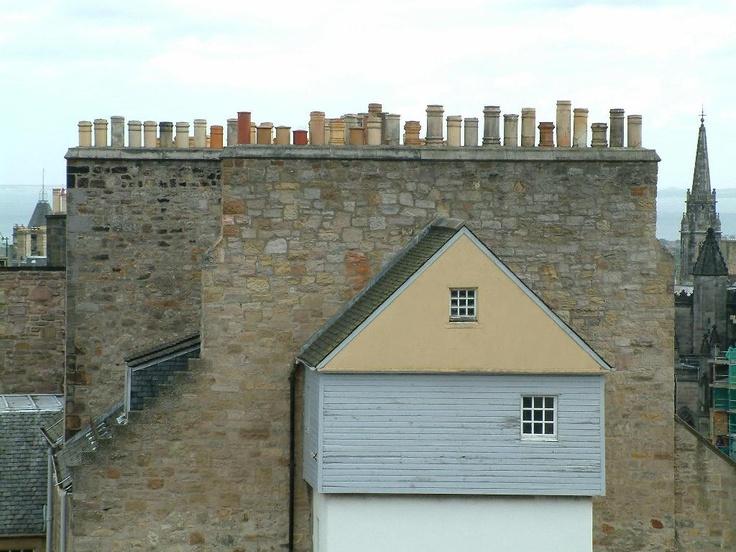 15) Edinburgh, Midlothian, Scotland (chimneys c. Chris Popham)