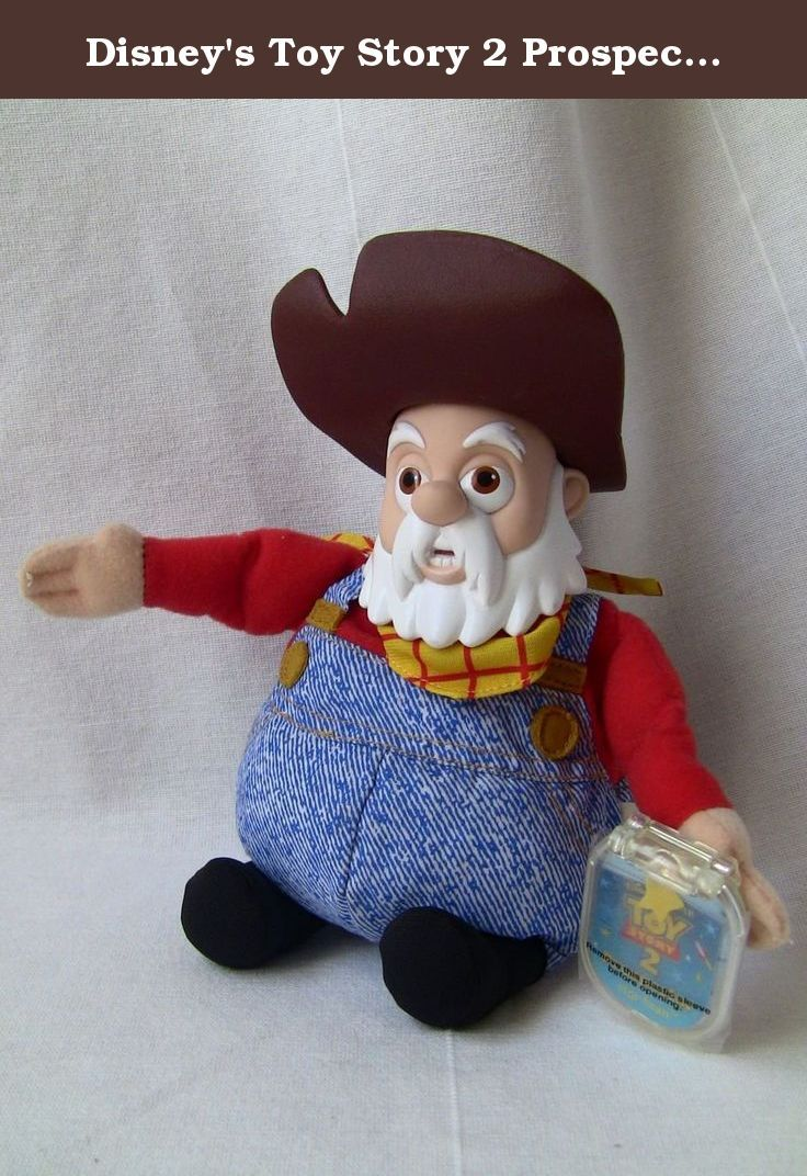"Disney's Toy Story 2 Prospector Stinky Pete 9"" Star Bean Figure (Rare). Disney's Toy Story 2 Prospector Stinky Pete 9"" Star Bean Figure (Rare) Bean Bag Toy."