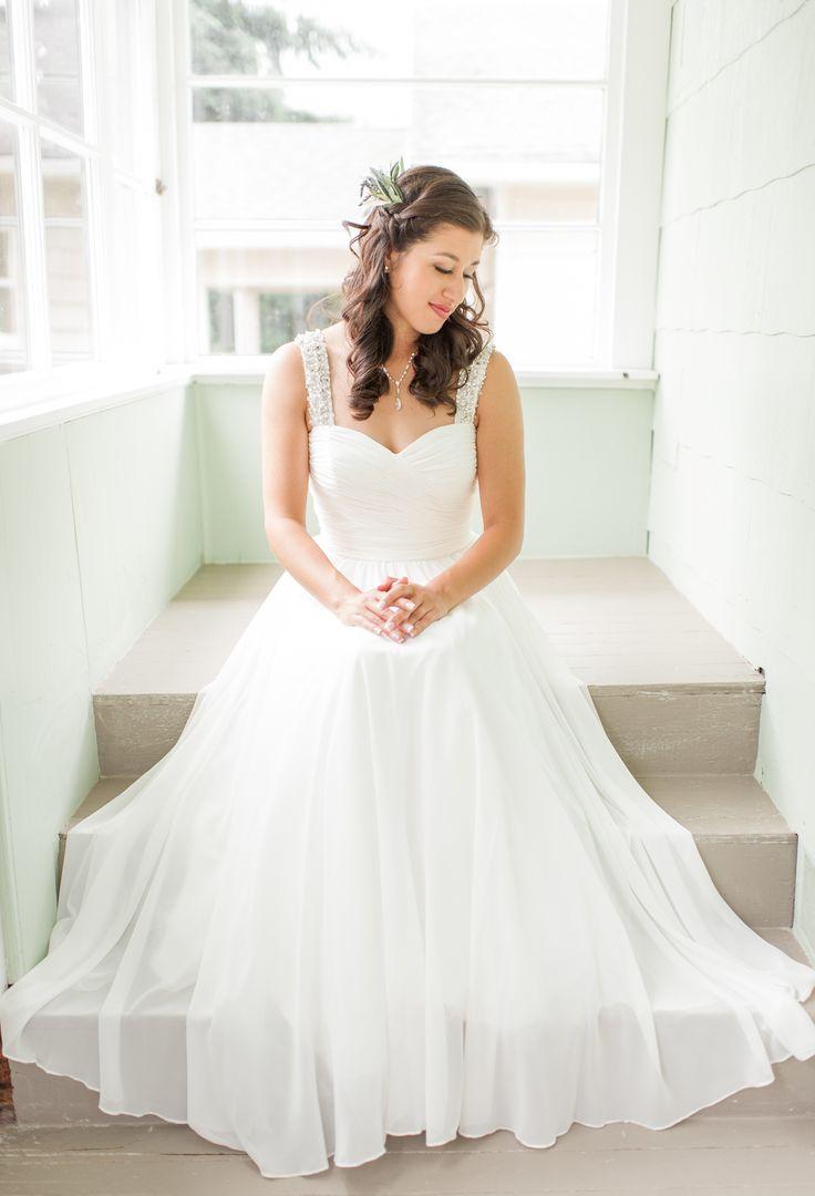 49 best our wedding images on pinterest golden garden for Modest wedding dresses seattle