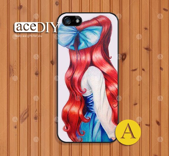 Ariel, Disney, Phone cases, iPhone 5 case, iPhone 5s case, iPhone 4 case, iPhone 4s case, Little Mermaid, Case for iPhone, Skins--A50852