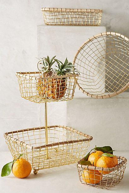 1000 Ideas About Wire Fruit Basket On Pinterest Fruit