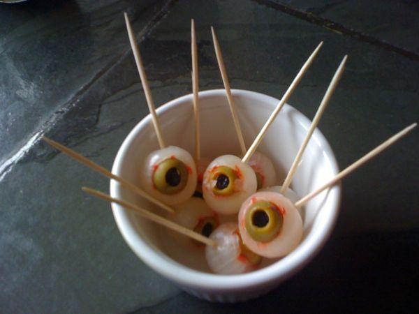 Halloween Finger Food | Ideas for a Halloween Buffet | Pickles ...