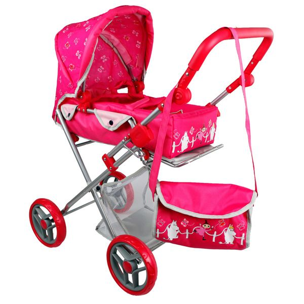 For the kids, a nice pink Doll pram to take the dolls out for a walk  or put to sleep in. Package size is 37,5x16,5x57,8cm