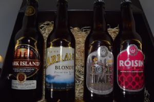 Scottish Beer Hamper - This Hamper Contains: Dark Island Dark Ale 500ml 4.6% Isle of Arran Blonde 500ml 5.0% Williams Bros Good Times 500ml 5.0% Roisin Tayberry Beer 500ml 4.2%  Explore the delights of Scotland's Micro Breweries from the Orkney Islands to the Isle of Arran with this wonderful little hamper.