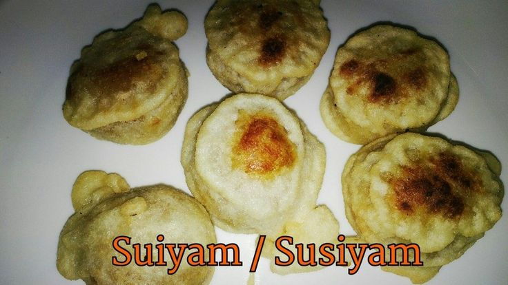 Suiyam   Suzhiyam   Susiyam   Diwali recipes - Suiyam or susiyam or sugiyam our traditional sweet since ages. Suiyam made with Channa dal, jaggery and coconut. For the batter I used maida and rice flour. This recipe both my mom and MIL will …
