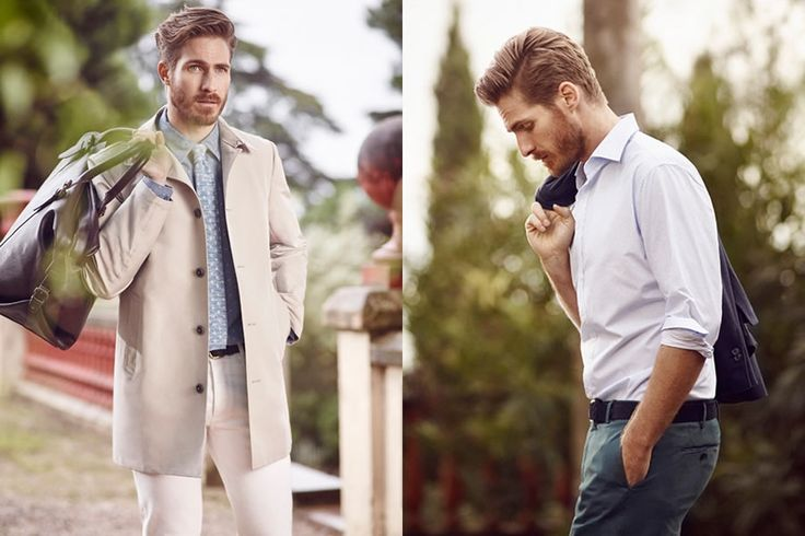 Mango Man Spring In Tuscany 2015 Lookbook | FashionBeans.com