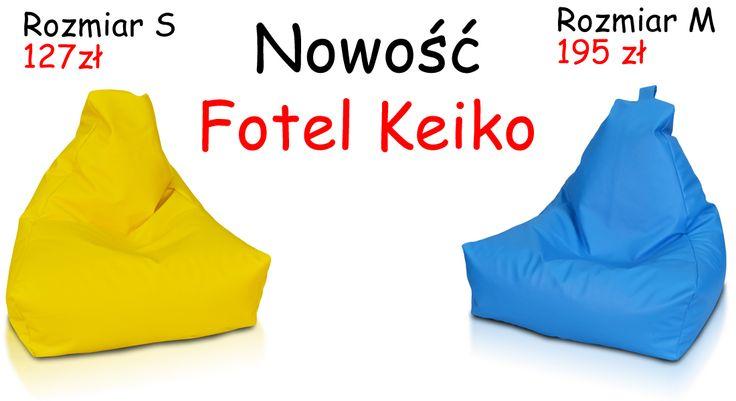 Nowość od Pufy.pl Fotel Keiko dostępny w wielu kolorach oraz wykonany z super wygodnej ekoskóry. Jest to całkowita nowość na polskim rynku dlatego zapraszamy do sprawdzania naszej oferty. #pufy #keiko #nowapufa #wygodnapufa #pufadladziecka #kolorowapufa #pufapiłka #pufakeiko #fotelkeiko #fotelsako #sako #meblesako