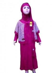 Baju Muslim Anak Perempuan MAW001 | Khayla Qu Collection | Baju Muslim, Busana Muslim, Aksesoris Busana