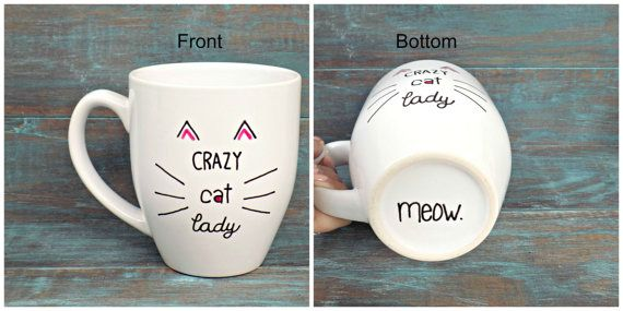 Hey, I found this really awesome Etsy listing at https://www.etsy.com/listing/247454058/crazy-cat-lady-mug-funny-coffee-mug-cat