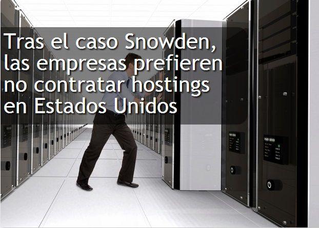 Un proveedor de cloud entrevistó a 300 ejecutivos, de los cuales el 25 por ciento prefiere contratar servicios de alojamiento de datos en otros países. Edward Snowden, al revelar la maquinaria de espionaje PRISM, no sólo hizo que los usuarios tomemos conciencia sobre la privacidad de nuestros datos. También encendió la alerta entre las firmas cuya información es un gran activo y que prefieren resguardarla en servidores fuera de los Estados Unidos.