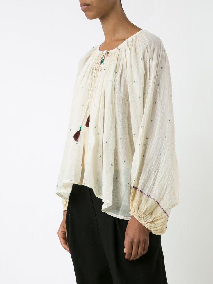 Mes Demoiselles peasant blouse