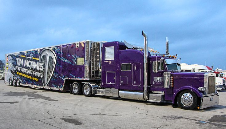 Peterbilt, McAmis Performance Parts Race Transporters