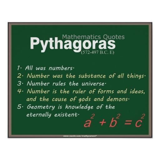 mathematics and pythagoras Before pythagoras: the culture of old babylonian mathematics extended dates: november 12, 2010 - january 23, 2011.