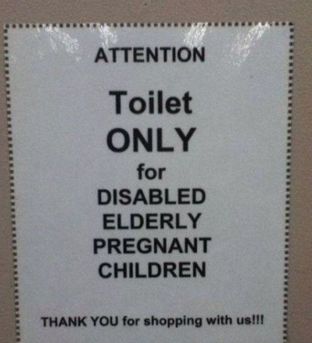 This:   23 Photos That Prove Commas Are VERY Important …HAHA, I laughed harder than I probably should have...