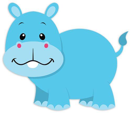 Vinilos Infantiles: Hipopótamo Tim