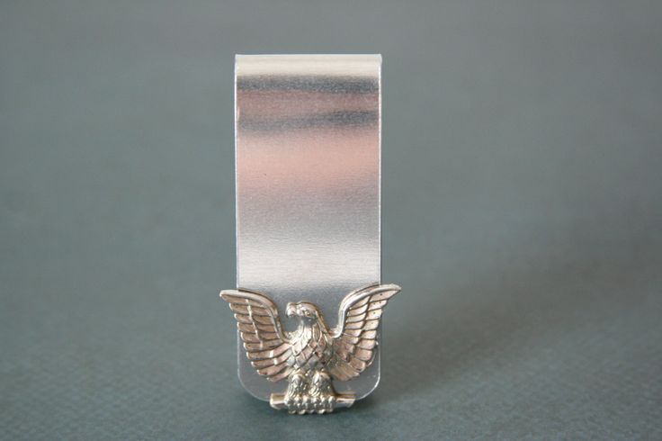 Eagle Money Clip US Navy Eagle Money Clip - made from a US Navy hat pin by AngleAh on Etsy