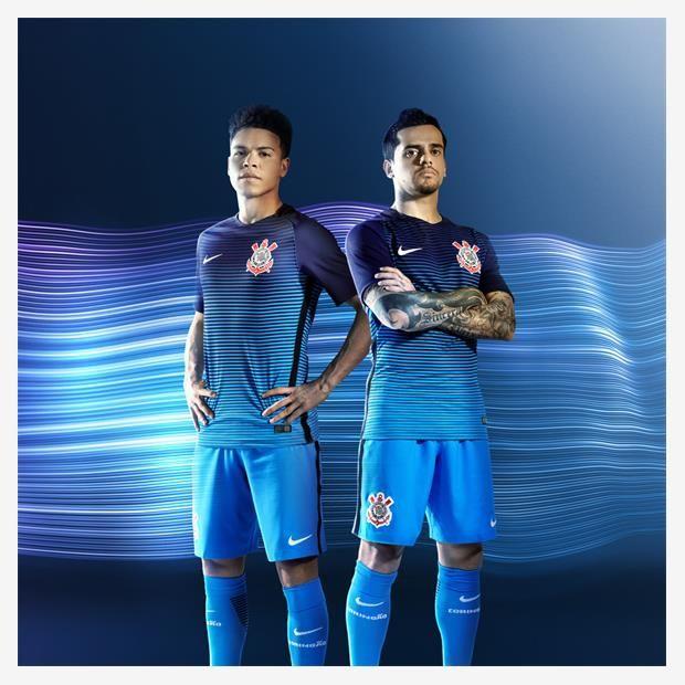 Terceira camisa do Corinthians 2016-2017 Nike Azul