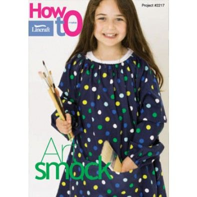 Lincraft Art Smock - free download and tutorial