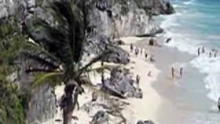 Cabanas Tulum - Mexico - Res: 832-282-3888 ~ Instead Of Cancun or Playa del Carmen, via YouTube.
