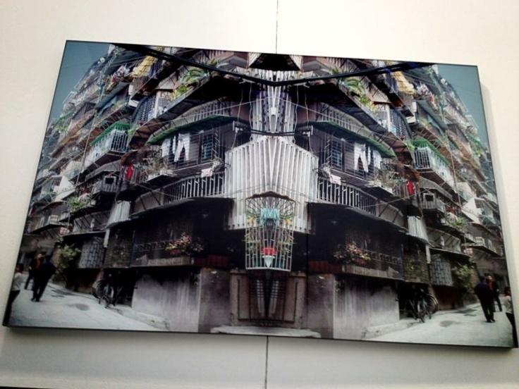 19:: Spazio Testoni #Bologna propone Maria Rebecca Ballestra:imperdibile - nello scatto immagine speculare #artefiera