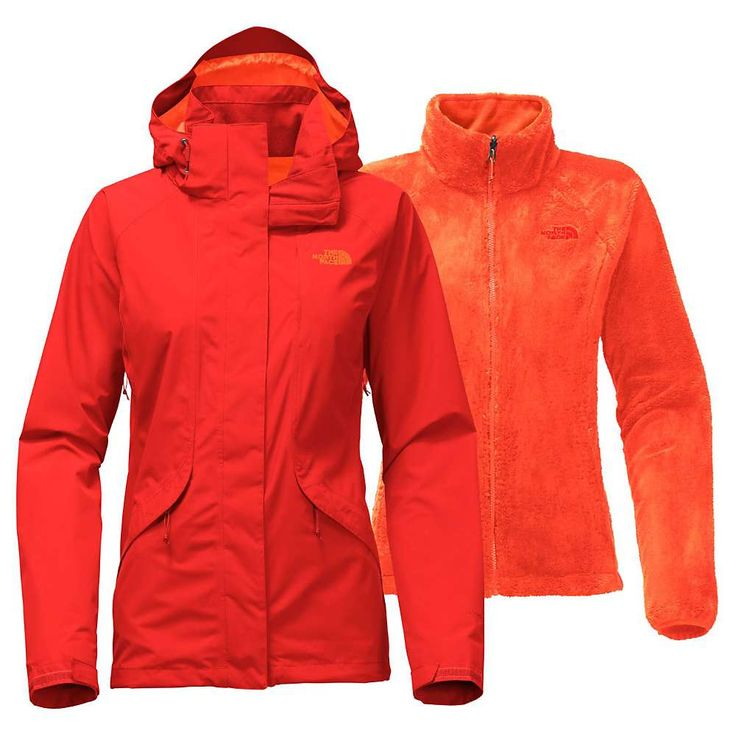 The North Face Women's Boundary Triclimate Jacket - XS - Fire Brick Red