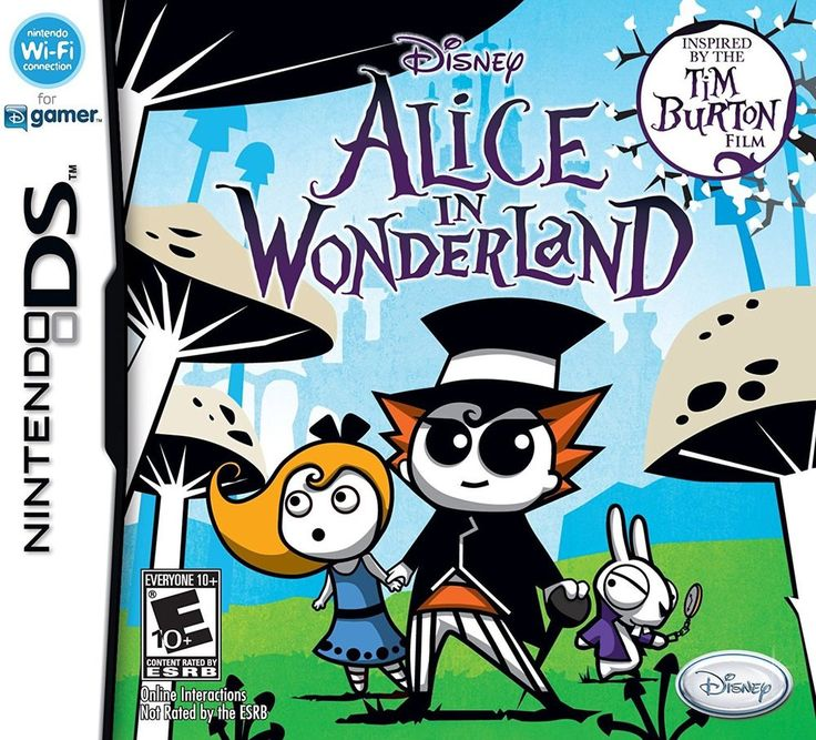 For Sale - Alice in Wonderland - New Nintendo DS Game - Tim Burton Film - NIB #Disney #NINTENDO #EBAY #SEANMICHAEGEEK