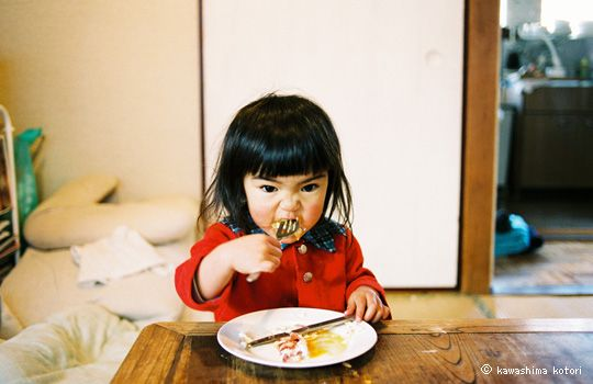 "From a series in a book called ""Mirai-Chan"", which features photographer, Kotori Kawashima's daughter (Mirai, possibly?)."