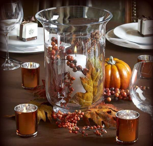 Fall Centerpiece Floating Candle Ideas: 12 Best Images About Centerpieces On Pinterest